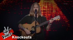 Βασίλης Κατσούλας - The Blower's Daughter | 4o Knockout | The Voice of Greece