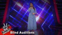 Νικολέτα Κίτσιου - Μέτρησα | 11o Blind Audition | The Voice of Greece