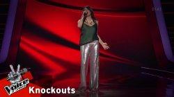 Ρωξάνη Κοντού - Αυτη η νύχτα μένει | 1o Knockout | The Voice of Greece