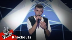 Μάνος Μπινυχάκης - Diamonds | 4o Knockout | The Voice of Greece