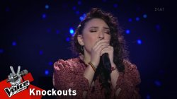 Μαριαλένα Τζιβανάκη - Scarborough Fair | 4o Knockout | The Voice of Greece
