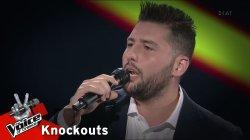 Κωνσταντίνος Μαθιουδάκης - Μου έχεις κάνει την ζωή μου κόλαση | 4o Knockout | The Voice of Greece