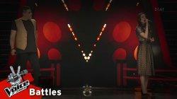 Κάλλια vs Νάσος - Μονόλογος για δύο | 1o Battle | The Voice of Greece