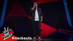 Δάνης Νικολαΐδης - Πόσες φορές | 2o Knockout | The Voice of Greece