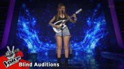 Χριστίνα Παπαδοπούλου - Θα σπάσω κούπες | 13o Blind Audition | The Voice of Greece