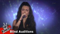 Κωνσταντίνα Παπαστεφανάκη - Μακριά μου να φύγεις | 12 o Blind Audition | The Voice of Greece