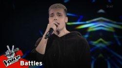 Νίκος Παππάς - Star Boy | 3o Knockout | The Voice of Greece