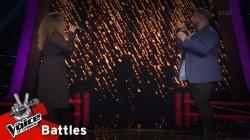 Άννα Ρενιέρη vs Μάνος Μακρόπουλος - Εγώ κι εσύ (Τα λόγια είναι περιττά) | 1o Battle | The Voice of Greece