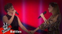 Μυρτώ Σπυροπούλου vs Χριστίνα Παπαδοπούλου - Το κόκκινο ποτάμι | 1o Battle | The Voice of Greece