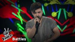 Μάριος Σέλλας - The edge of glory | 3o Knockout | The Voice of Greece