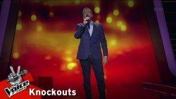 Γιάννης Σκαμνάκης - Απ' το αεροπλάνο | 2o Knockout | The Voice of Greece