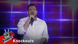 Δημήτρης Σμυρνιάδης - Ποιος Θεός | 1o Knockout | The Voice of Greece