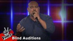 Στέφανος Θεοδοσιάδης - Ανεστάκι | 11o Blind Audition | The Voice of Greece