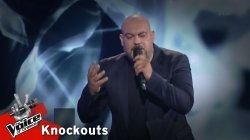 Στέφανος Θεοδοσιάδης - Τα φιλιά σου είναι φωτιά | 1o Knockout | The Voice of Greece