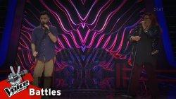 Θάνος Νικολόπουλος vs Έλλη Πλατάνου - Το Ροκ | 1o Battle | The Voice of Greece