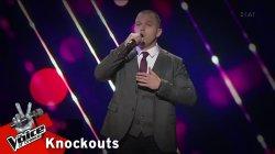 Βασίλης Τσακίρης - Λέγε με παλιόπαιδο | 4o Knockout | The Voice of Greece