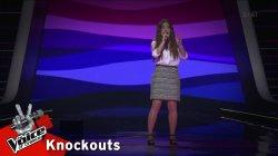 Αγγελική Τσιχλόγιαννη - Je veux | 2o Knockout | The Voice of Greece
