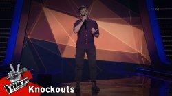 Μανώλης Βασιλάκης - Τριανταφυλλένη | 1o Knockout | The Voice of Greece