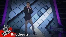 Στέφανος Χριστοφόρου - River | 1o Knockout | The Voice of Greece