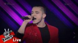 Αναστάσιος Τσολακίδης - Strong Enough | 2o Live | The Voice of Greece