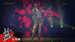 Έλενα Παπαρίζου - Άσκοπα Ξενύχτια | 1ος Ημιτελικός | The Voice of Greece