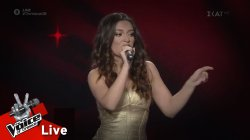 Erika Soteri - Ain't nobody | 1o Live | The Voice of Greece
