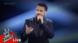 Γιώργος Ευθυμιάδης - Feeling Good | 1ος Ημιτελικός | The Voice of Greece