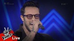 Κωνσταντίνος Φραντζής - Εσώρουχα | 2o Live | The Voice of Greece