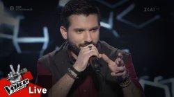 Γιώργος Ευθυμιάδης - Ψυχή Βαθιά | 2o Live | The Voice of Greece