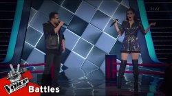 Έβαν Γιαννόπουλος vs Τζόρτζια Τζελάτη - Give It Away | 2o Battle | The Voice of Greece