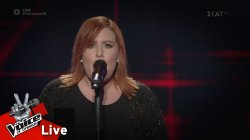 Άννα Καπόνε Παπάς - Je suis malade | 2o Live | The Voice of Greece