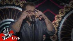 Μανώλης Μπρίμπος - Το Γράμμα | 2o Live | The Voice of Greece