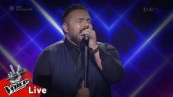 Μάνος Μακρόπουλος - Μυστικέ μου έρωτα | 2o Live | The Voice of Greece