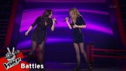 Μαριαλένα Τζιβανάκη vs Κλεοπάτρα Ιακώβου - Those Were the Days | 1o Battle | The Voice of Greece