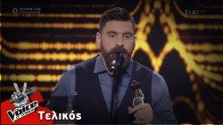 Κώστας Χειλάς - Ερωτόκριτος | Τελικός | The Voice of Greece