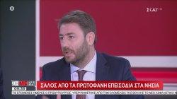 Ανδρουλάκης: Αποδεικνύεται η λυκοφιλία Ιράν-Ρωσίας-Τουρκίας