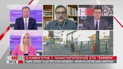 Καθηγητής Παναγιωτόπουλος: Θέμα χρόνου το επόμενο κύμα κορωνοϊού