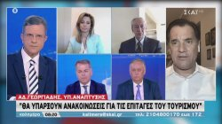Ο υπουργός Ανάπτυξης Α. Γεωργιάδης στον ΣΚΑΪ | 13/06/2020