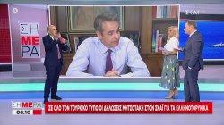 Σε όλο τον Τουρκικό τύπο οι δηλώσεις Μητσοτάκη στον ΣΚΑΪ για τα Ελληνοτουρκικά | 08/07/2020