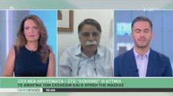 Βατόπουλος: Φοράμε μάσκα όπου βλέπουμε πολύ κόσμο