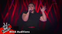 Βίκυ Φυσεκίδου - Always Remember Us This Way | 2o Blind Audition | The Voice of Greece