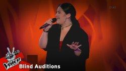 Μαρίνα Μπατσιώκη - Στόχος | 3o Blind Audition | The Voice of Greece