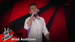 Σταύρος Κρητικός - Τι να το κάνω | 3o Blind Audition | The Voice of Greece