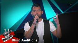 Μάριος Πασιαλής - Αναπάντητα | 2o Blind Audition | The Voice of Greece