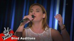 Ματίνα Πάντζαλη - Μπαρμπαγιαννακάκης | 3o Blind Audition | The Voice of Greece