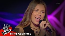 Έλενα Τσιγάρα - Unstoppable | 3o Blind Audition | The Voice of Greece