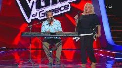 Η εμφάνιση της Μπέσσυ Αργυράκη στο Voice
