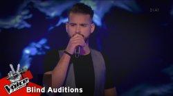 Κωνσταντίνος Δημητρακόπουλος - Ζήσε την στιγμή | 5o Blind Audition