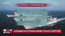 Οι ελληνικές και οι τουρκικές δυνάμεις γύρω από το Όρουτς Ρέις