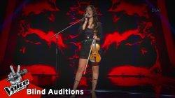 Ειρήνη Περικλέους - I put a spell on you | 5o Blind Audition